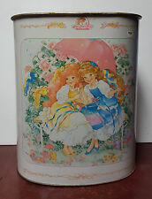 Rare Vintage 1987 Lady Lovely Locks and the Pixietails Tin Trashcan