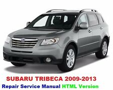 SUBARU TRIBECA 2008 2013  FACTORY SERVICE REPAIR MANUAL FAST SEND