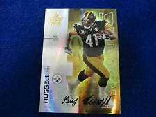 2007 R/S Gary Russell  gold rookie autograph Steelers  # 5 of 50  RC