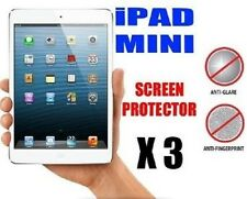 "3 X Apple iPad Mini / 2 3 7.9"" Anti-Glare (Matte) Screen Protector Cover & Cloth"