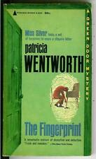 THE FINGERPRINT, by Wentworth, rare US Pyramid Green Door crime pulp vintage pb