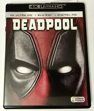 MARVEL DEADPOOL 4K ULTRA HD UHD BLU RAY 2 DISC SET FREE WORLD WIDE SHIPPING
