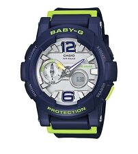 Casio Baby-G * BGA180-2B Anadigi G-Lide Green & Blue Resin Women COD PayPal