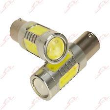 2x BA15s 1156 P21W Rückleuchte Signal Hinten Seiten Blinker COB LED Lampe Weiß