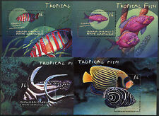 Grenadines Grenada 2000 SG#MS2971 Tropical Fish MNH M/S Set #A89681