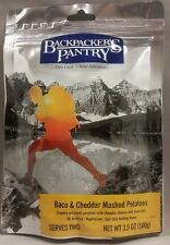 Backpacker's Pantry Bacon & Cheddar Mashed Potatoes 2-Serving Camping Food