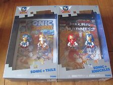 Sonic the Hedgehog 25th SONIC + TAILS + KNUCKLES 2 Pack lot of 2 Tomy NEW
