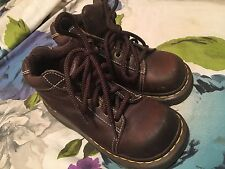Dr. Martens  Women's  Classic Ankle Boots Shoes Size US 5  8542 BROWN