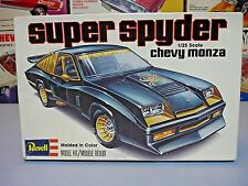 "REVELL 1978 CHEVY MONZA ""SUPER SPYDER"" #H-1346 1/25 AMT 78 UNBUILT O/B MODEL KIT"