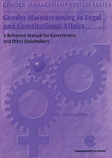 Gender Mainstreaming in Legal and Constitutional Affairs (Gender Management Sys