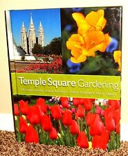 TEMPLE SQUARE GARDENING by Christena Gates Salt Lake Temple UTAH MORMON LDS