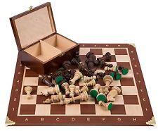 Pro Schach Set Nr. 6  - FRANKREICH - Schachbrett  & Schachfiguren STAUNTON 6