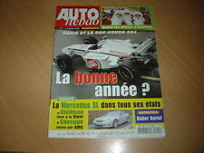 Auto hebdo N°1322 Viper/Mercedes SL 500.VW Fun Cup.