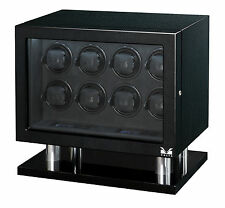 New High Quality VOLTA Carbon Fiber finish - Automatic 8 Watch Winder Box