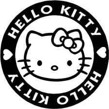 Hello Kitty Badge die cut vinyl decal