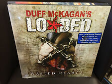 """Duff McKagan's LOADED Wasted Heart EP 12"""" LP LIMITED RED VINYL Guns N Roses NEW"""