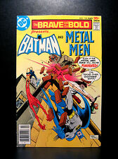 COMICS: DC: Brave and the Bold #135 (1977), Batman/Metal Men - RARE