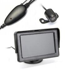 """4.3"""" LCD Moniteur Rétroviseur Rearview Caméra de Recul Sans Fil pour Automobile"""
