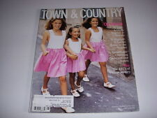 TOWN & COUNTRY Magazine, August, 1996, SWISS INNS, TOP BOARDING SCHOOLS, JEWELRY