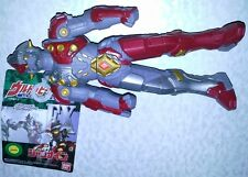 BANDAI 2011 ULTRA HERO SERIES EX ULTRAMAN ZERO JUMNINE VINYL FIGURE W/TAG NEW