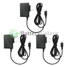3 Fast Travel Battery Home Wall AC Charger for Android Samsung Galaxy Note 1 2 3