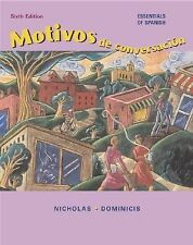Motivos de conversacion with Listening Comprehension CD and Student CD-ROM