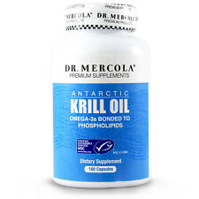 Dr. Mercola Krill OIl - 1000 mg Antarctic Krill Oil - 180 Capsules