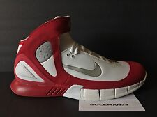 2005 Nike Air Zoom Huarache 2k5 Men's Size 13 WHITE/RED 310850-103