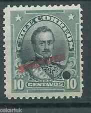 CHILE 1911 Presidents American Bank Note Freire MNH SPECIMEN