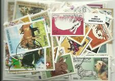 """Lot timbres thematique """" Animaux domestiques """""""