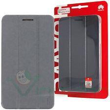 Custodia flip cover originale Huawei per MediaPad T1 7.0 case Grigio Scuro