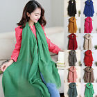 Fashion Lady Women's Long Candy colors Scarf Wraps Shawl Stole Soft Scarves