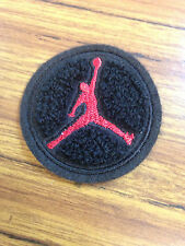 Michael Jordan Jump Man Chenille Embroidery Applique Patch 2 Inch