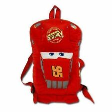 "Backpack 12"" Full Body Plush Disney Cars McQueen  NWT"