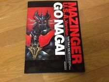 Mazinger Go Nagai Usa Version Art Book Manga Mazinga 1999 ANIME ROBOT MECHA