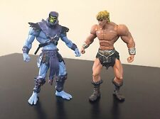 Masters of the Universe 2002 Heman and Skeletor MOTU 200x - Mattel