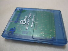 SONY PS2 Memory Card. Memory Card Only. Made in Japanese Version. Island Blue.