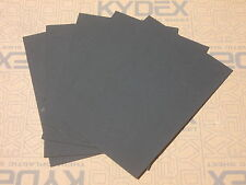 5 pieces KYDEX T SHEET 300 X 300 X 1.5MM SIZE (P-1 HAIRCELL BLACK )
