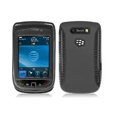 Black Hybrid with Black TPU Inner Case Cover for Blackberry Torch 9800/9810