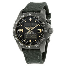 Breitling Mens Chronospace Military Black Quartz Swiss Watch M7836622-BD39GCVT