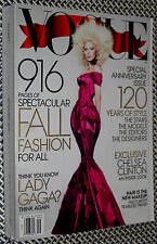2012 VOGUE, LADY GAGA, SEPTEMBER ISSUE, TONS OF FASHION, ANNIVERSARY ISSUE