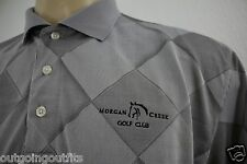 Skins Game Performance Slim Fit Morgan Creek Golf Club Embroidered Men's Polo L