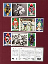 1993 Upper Deck ALL-TIME HEROES T202-style: Set of 165 (Mantle~Mays~Aaron~Babe+)