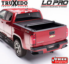 TruXedo Lo Pro Tonneau Roll Up Bed Cover for 15-17 Chevy Colorado GMC Canyon 6ft