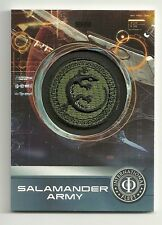 2014 Cryptozoic Ender's Game Replica Patch Cards  PC-02 SALAMANDER Army Patch