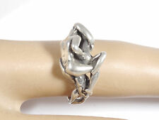 Kama Sutra erotic couple  Position 69 ring  sterling silver size 5