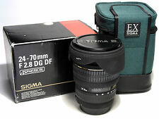 Sigma  24-70mm F2.8 DG DF Asph EX  SA mount for SD1 Merrill, SD9,SD10,SD14,SD15