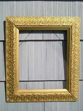Rare Antique Aesthetic Eastlake Victorian Very Ornate Picture Frame 16 x 20