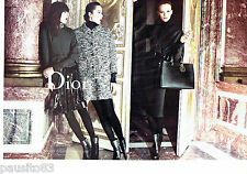 PUBLICITE ADVERTISING 096  2012  Dior  (2 p) haute couture Secret Garden