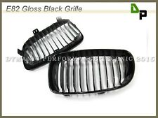 BMW Gloss Black Front Grille Grill For E82/E88 128i 135i Coupe/Convertible 08-12